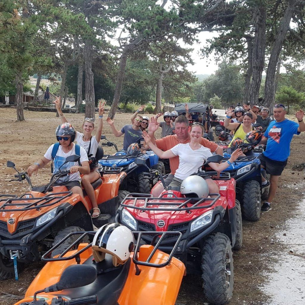 vidova Gora mountain island brac, quad tour Milna, Milna rent a quad, rent a quad Bol