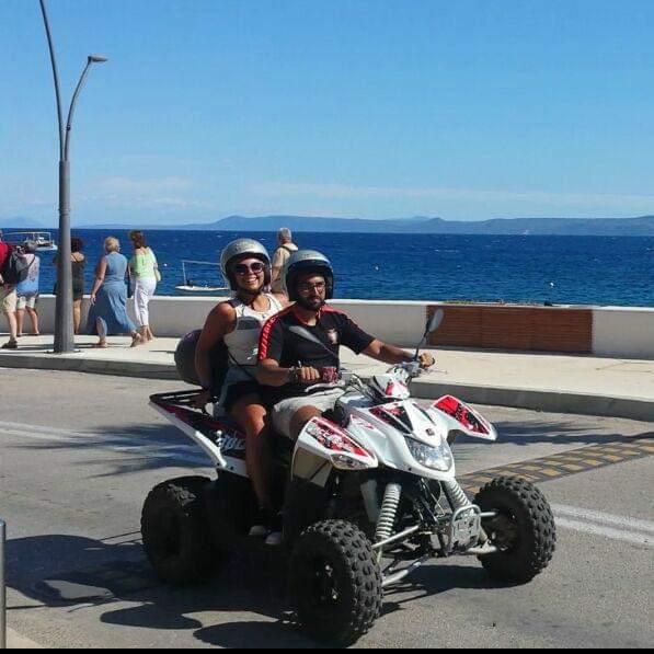 ATV rent in Bol, hire ATV Milna