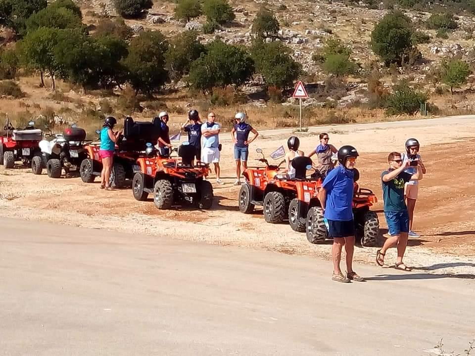 Quad Atv Safari from Bol, active vacation in Brac