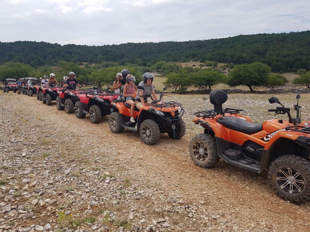 quad safari island Brac, Rent a quad Atv Croatia